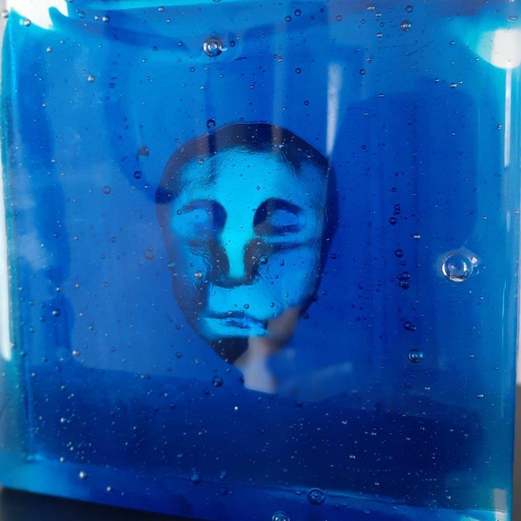 """ATLANTIS"" - sculpture en verre"