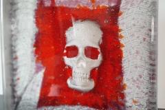 """""""SKULL"""" - sculpture en verre"""