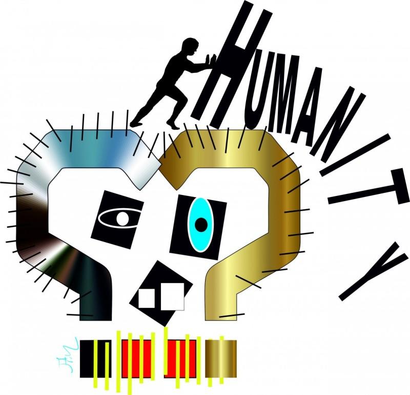 HumanityDigital Paint100€Signed