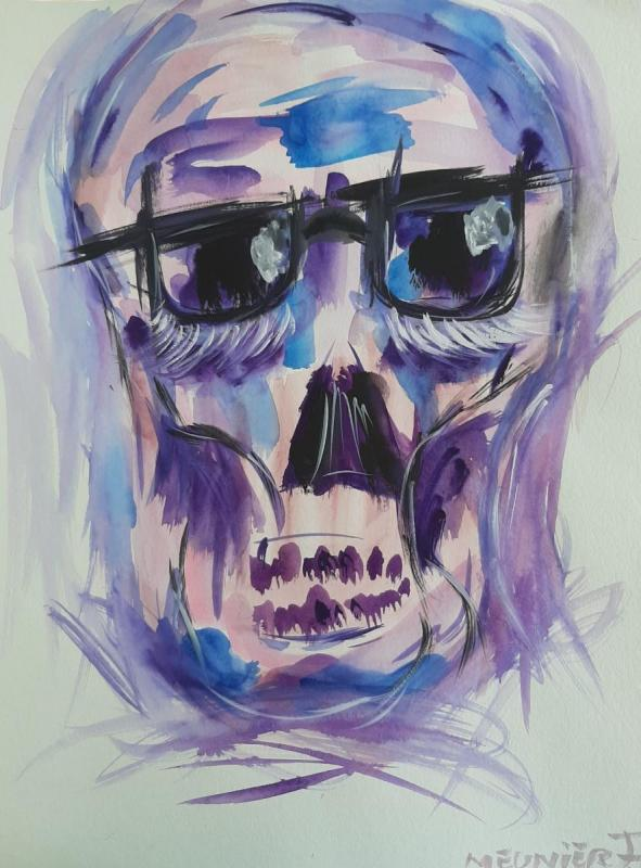 KARL - 48 x 36 cm - paper 350grs - Watercolor - signed - 150 €