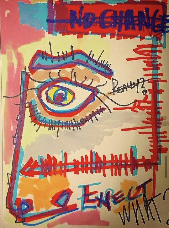 NOCHANGE  Paper   A4   270grs  Markers Signed  100€
