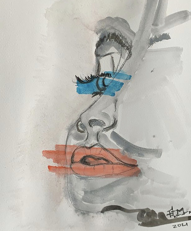 RIGHTTHINGS  Paper  A4   270grs  Watercolor  Signed  100€